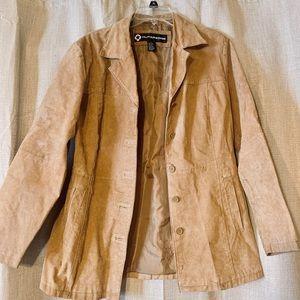 (L) Beautiful leather jacket